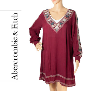 Abercrombie & Fitch Maroon Tunic Dress . Size S
