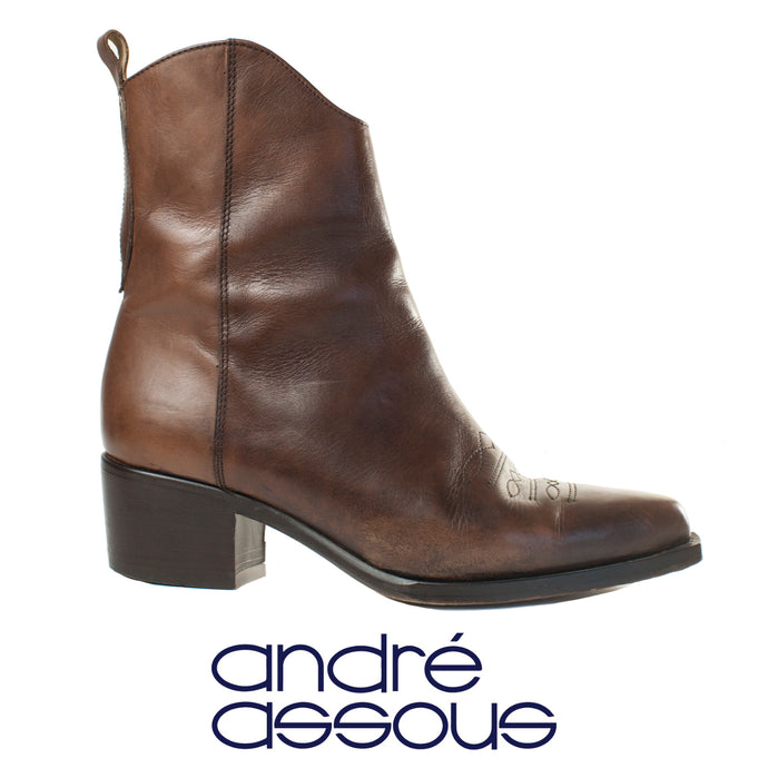 Andre Assous Chelsea Western Boots Size 6.5