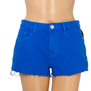 Current Elliott Nautical Blue Boyfriend Shorts . Size 25