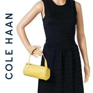 Cole Haan Yellow Mini Roll Village Collection Bag