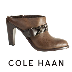 Cole Haan Tantivy Leather Mules . Size 9