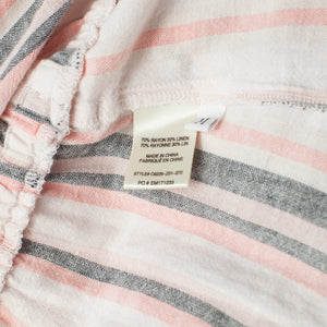 Anthropologie Cloth & Stone Stripe Strapless Dress. Size M