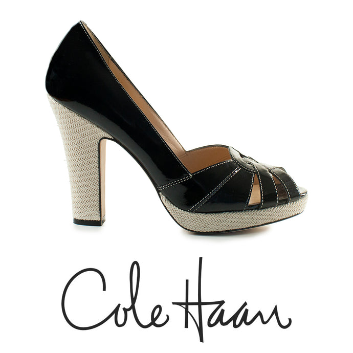 Cole Haan Air Nike Patent Leather Heels Size 9