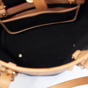 Dooney & Bourke Vintage Navy Blue Cabriolet Bag