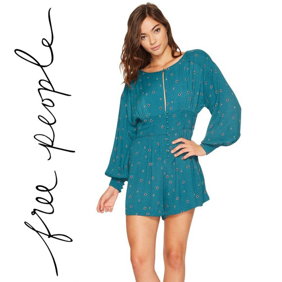 Free People Love Grows Romper  Size S