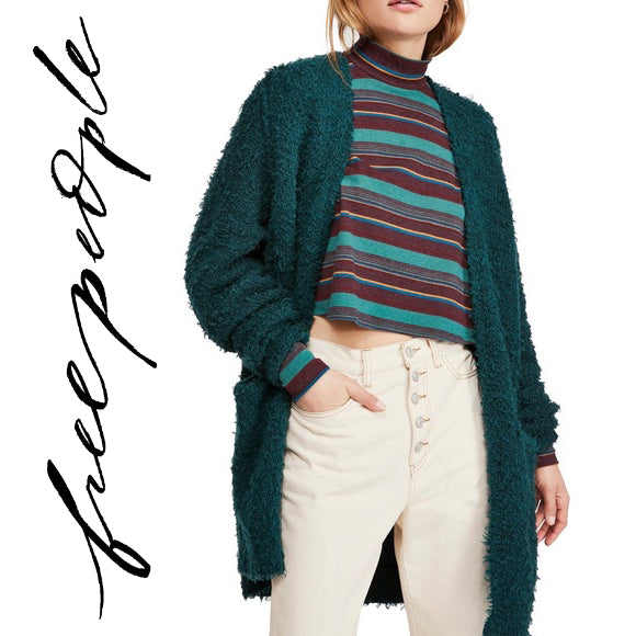 Free People Evergreen Open Cardigan . Size L