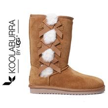 KOOLABURRA UGG Victoria Tall Shearling Trim Boot . Size 8