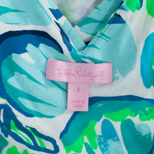 Lilly Pulitzer Floral Print Fit and Flare Dress  Size Small