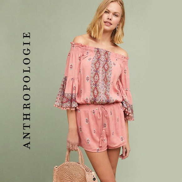 Anthropologie Raga Boho Romper from Anthro   Size M