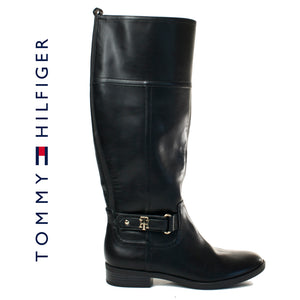 Tommy Hilfiger Women's ITINA Black Boots Size 7.5