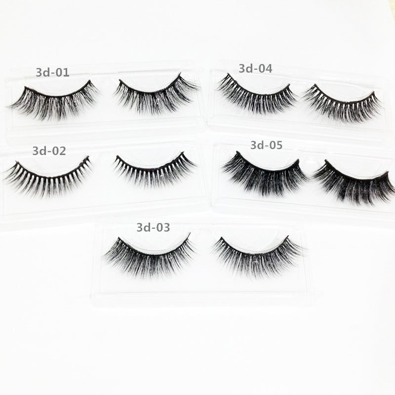Fluttery Mink False Lashes