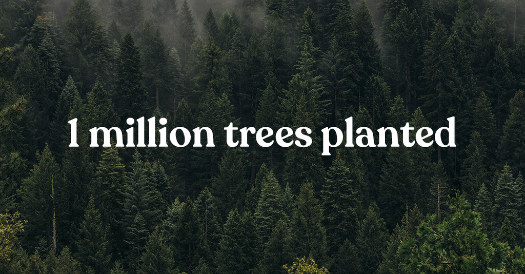 1 Million Trees... and counting