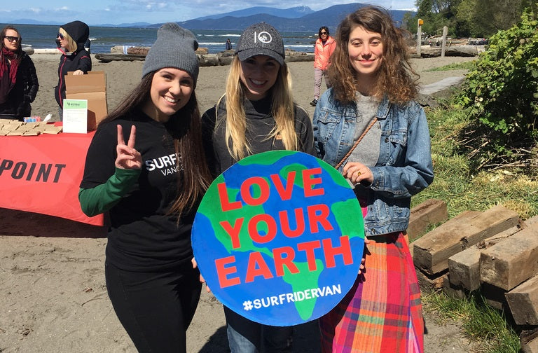 Surfrider Vancouver And tentree Partner Up For Earth Day Beach Cleanup