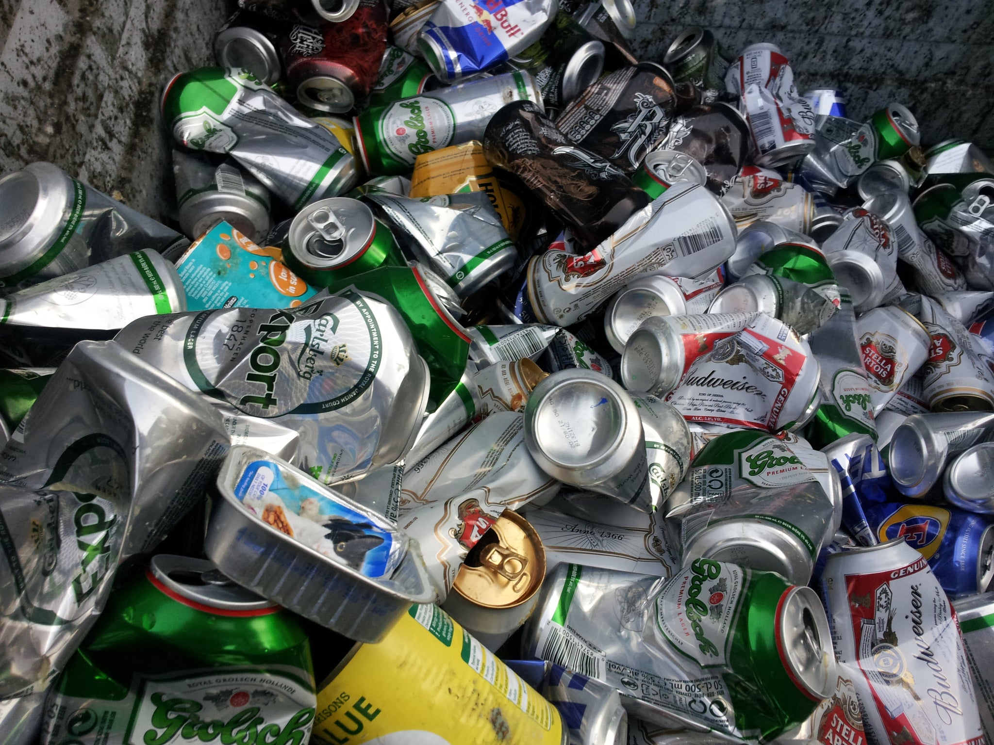 soda beer drink cans recycle