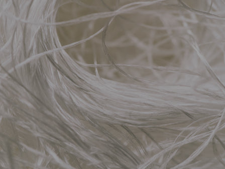 recycled polyester fibres