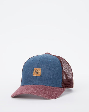 6-Panel Dark Denim Elevation Hat
