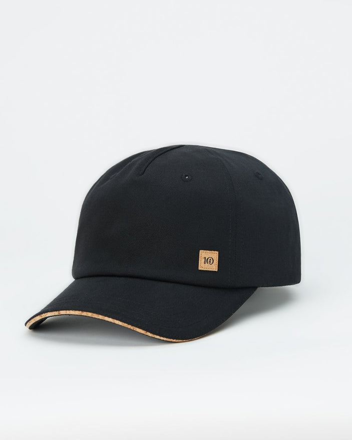 Cork Trim Peak Hat