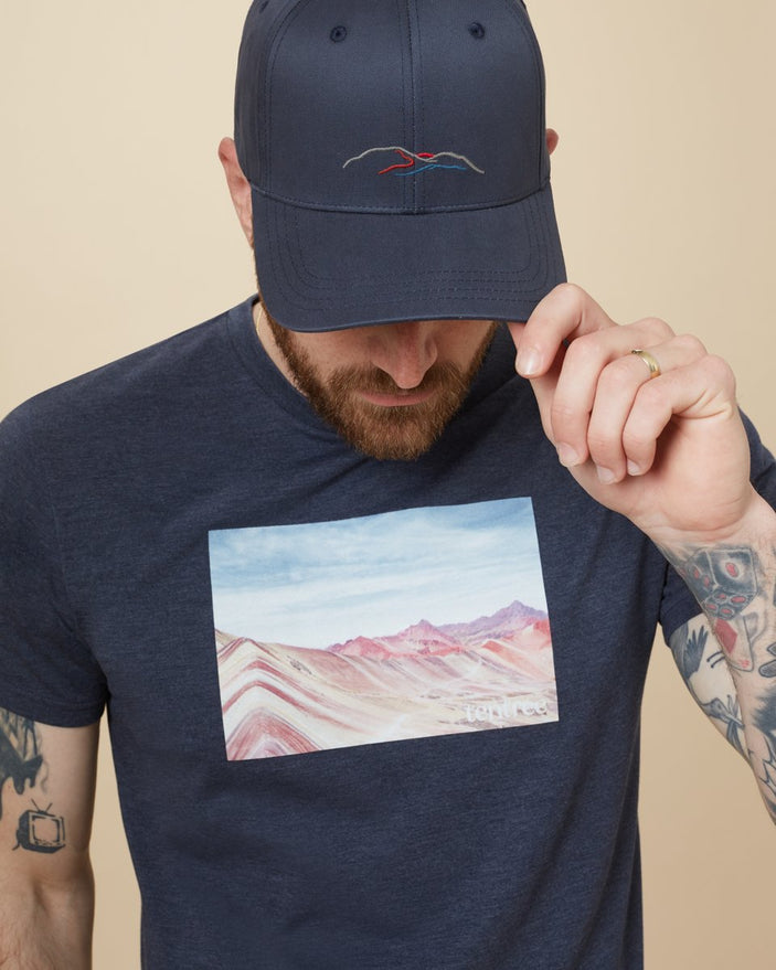 Image of product: Peru Wordmark Mountain Elevation Hat