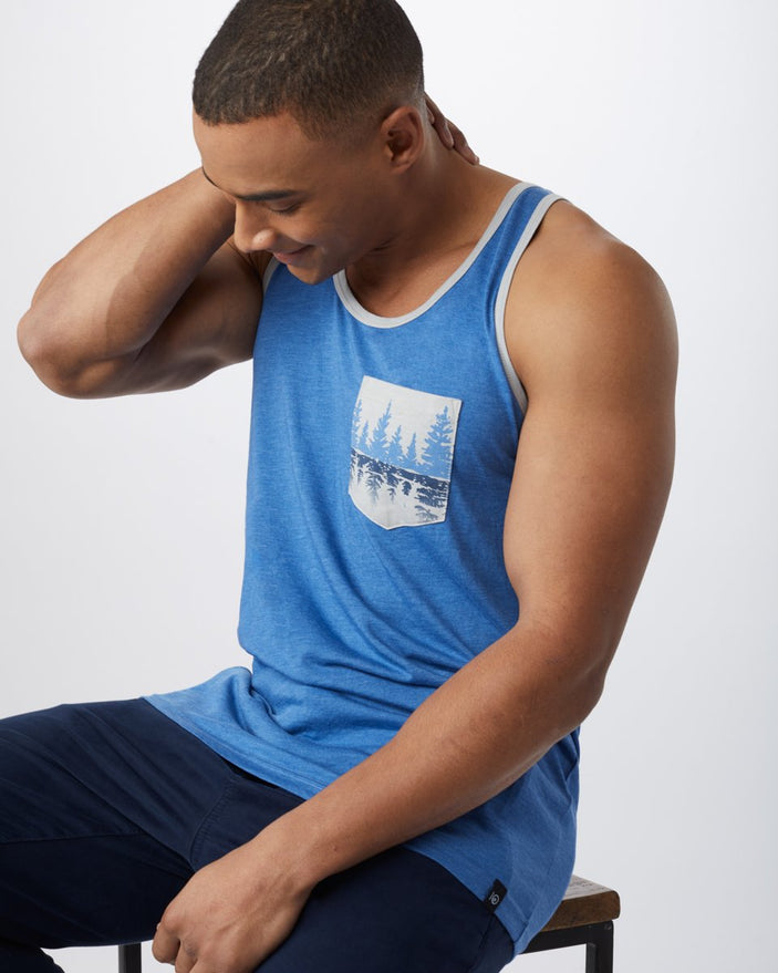 Image of product: Men's Treelake Pocket Tank
