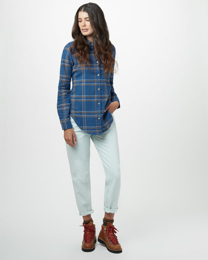 SOOKE PLAID DARK OCEAN BLUE_gallery