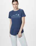 Image of product: W Geo Mountain Raglan T-Shirt