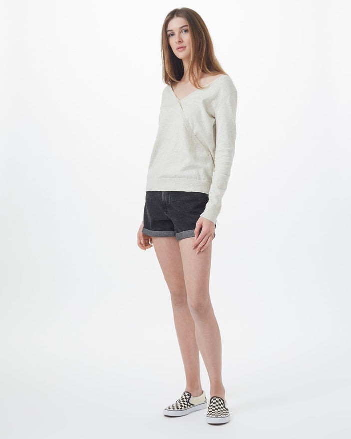 Image of product: Highline Cotton Crossover Sweater