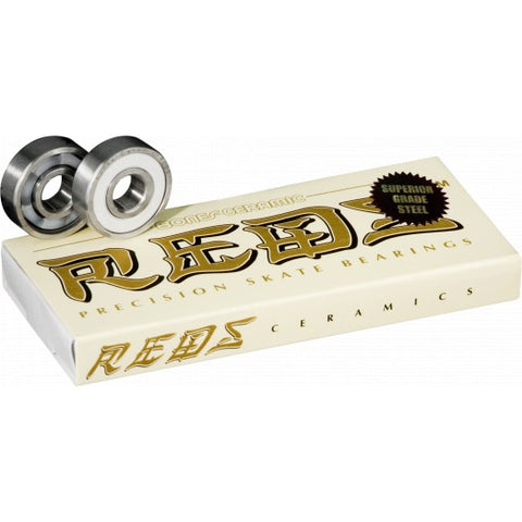 Bones Ceramic Super Reds Skate Bearings
