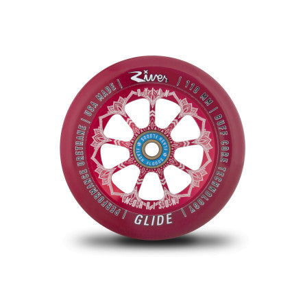 "RIVER WHEEL CO – ""BLOODY"" GLIDES 110MM WHEELS (DYLAN MORRISON SIGNATURE)"