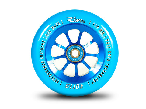 RIVER WHEEL CO. - SAPPHIRE GLIDES 110mm