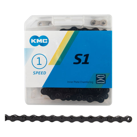 KMC S1 BICYCLE CHAIN - SINGLE SPEED BMX CHAIN