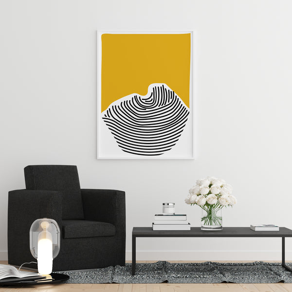 Abstract wall artwork