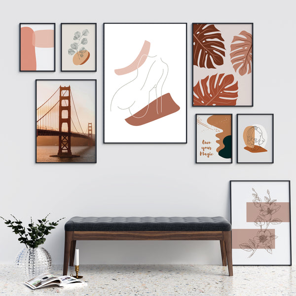 Terracotta Picture Wall