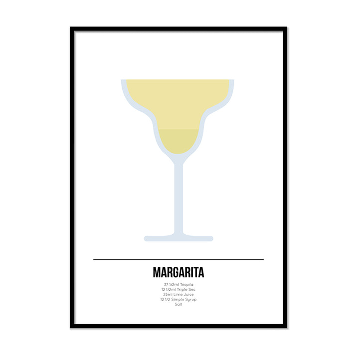 Margarita Cocktail Poster - Printers Mews