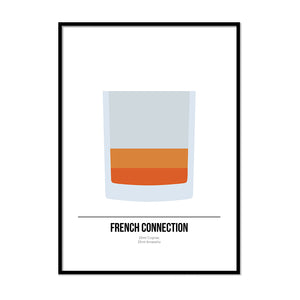 French Connection Cocktail Print - Printers Mews