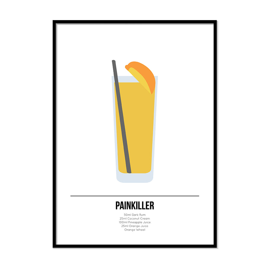 Painkiller Cocktail Print - Printers Mews