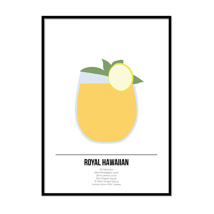 Royal Hawaiian Cocktail Print - Printers Mews