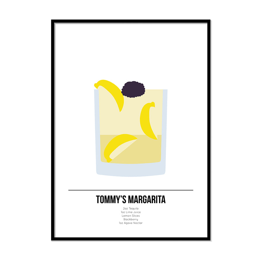 Tommy Margarita Cocktail Print - Printers Mews