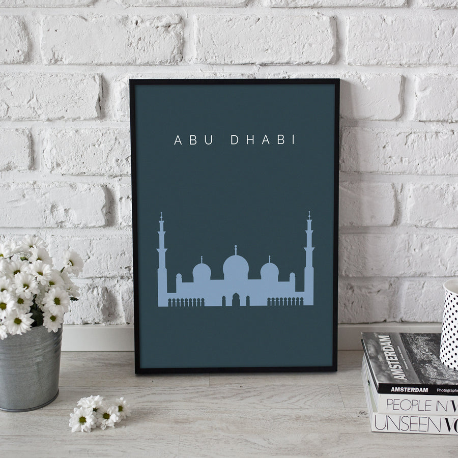 Grand Mosque Abu Dhabi - Printers Mews