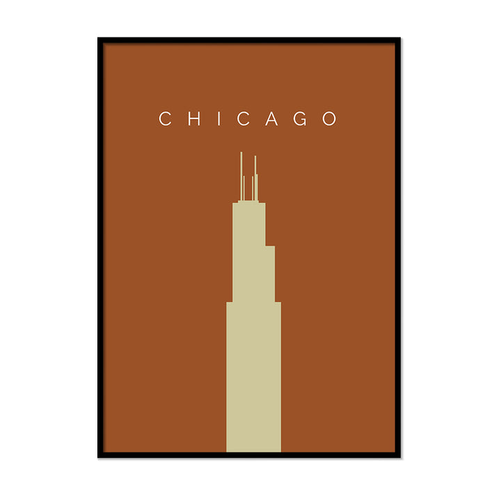 Chicago Willis Tower - Printers Mews