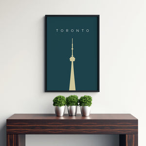Toronto Cn Tower - Printers Mews
