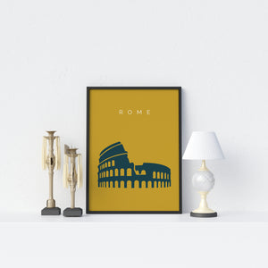 Rome Colosseum Poster - Printers Mews