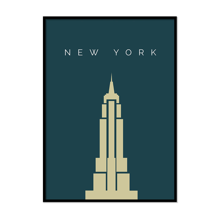 Empire State Building Poster - Printers Mews