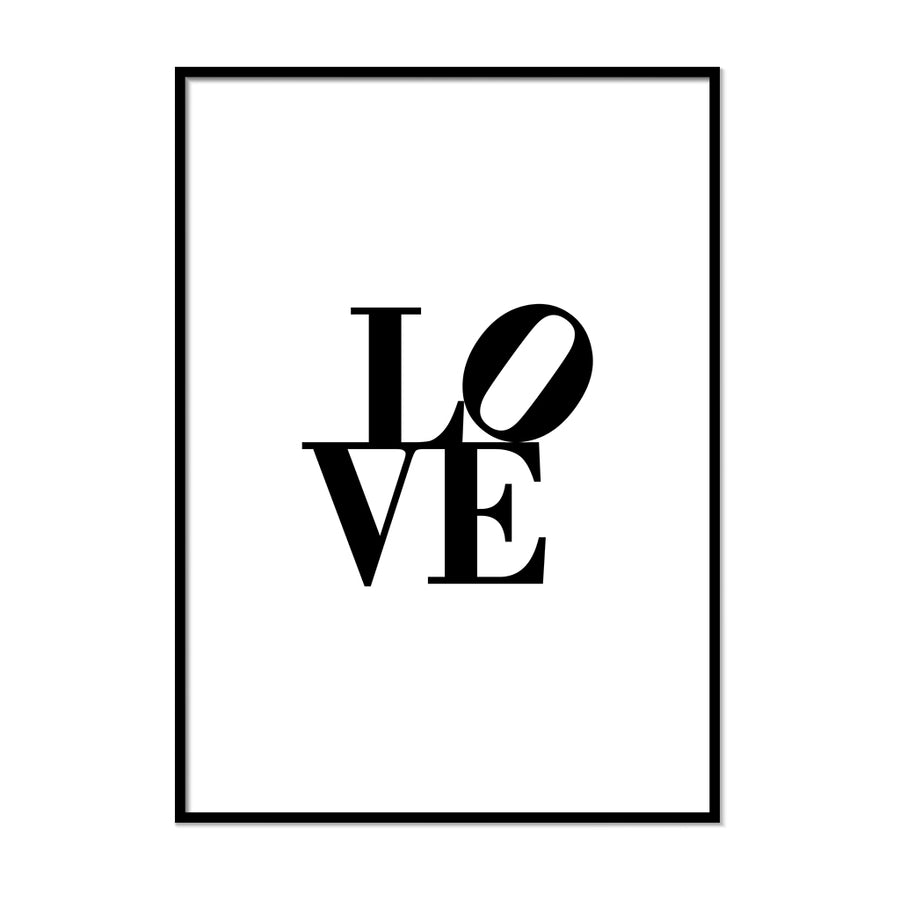 Love art Poster - Printers Mews