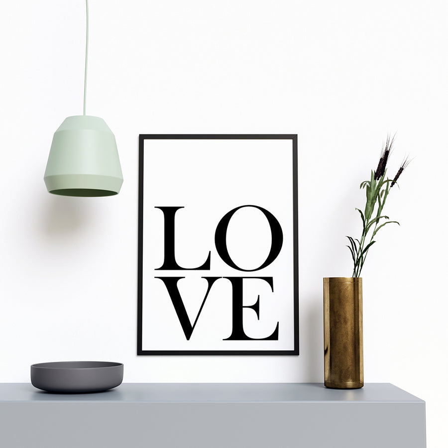 Love Modern Stylish Artwork