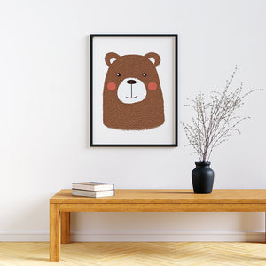 Baby Animal framed prints Bear
