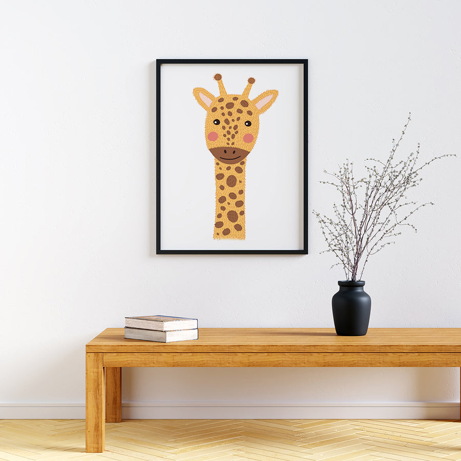 Nursery Animal Prints Giraffe