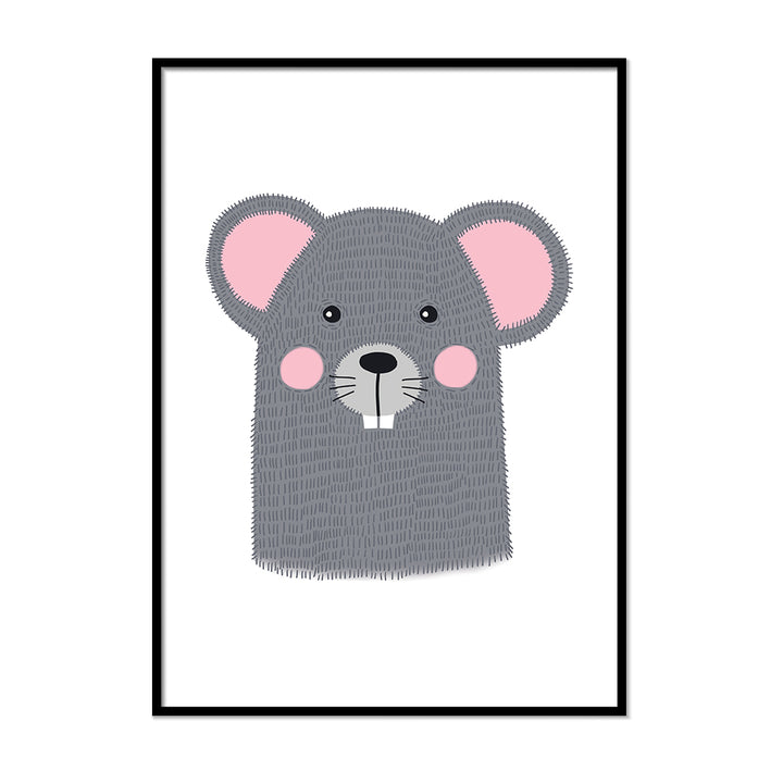 baby animal prints Mouse