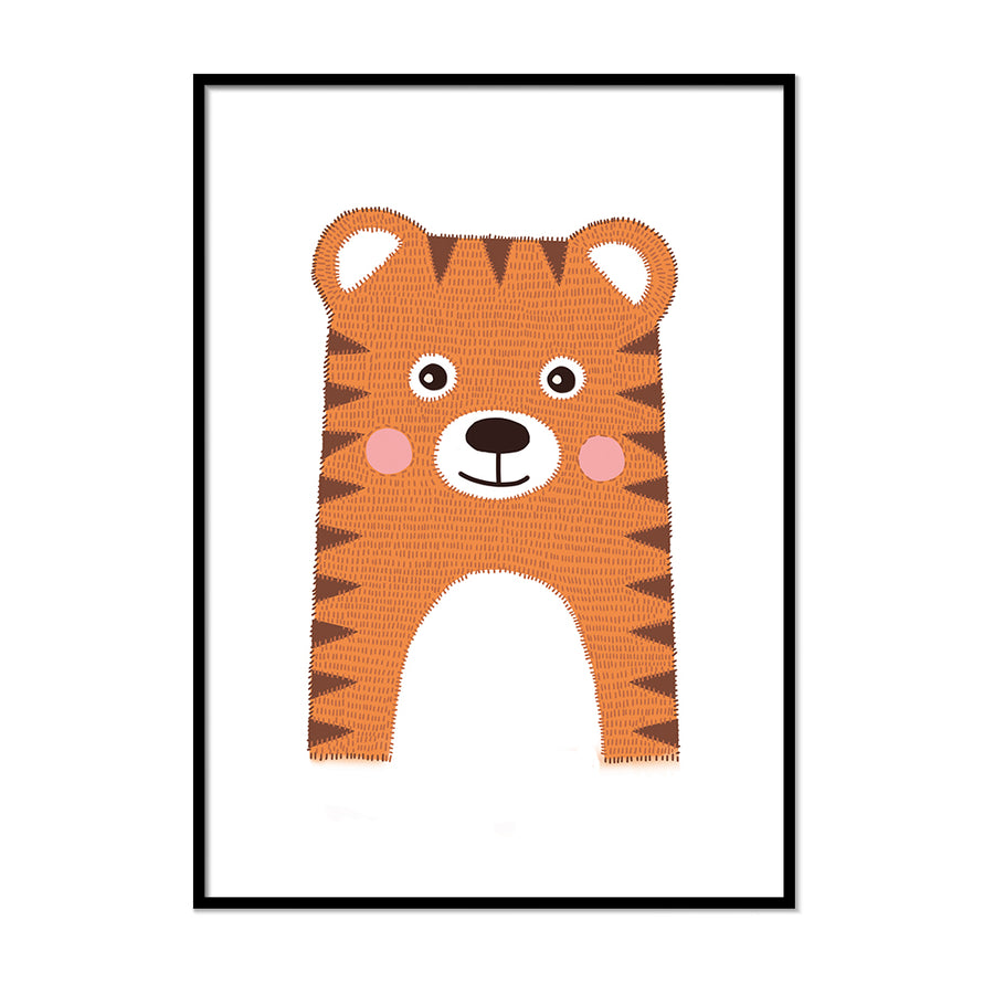 safari prints for nursery Tiger