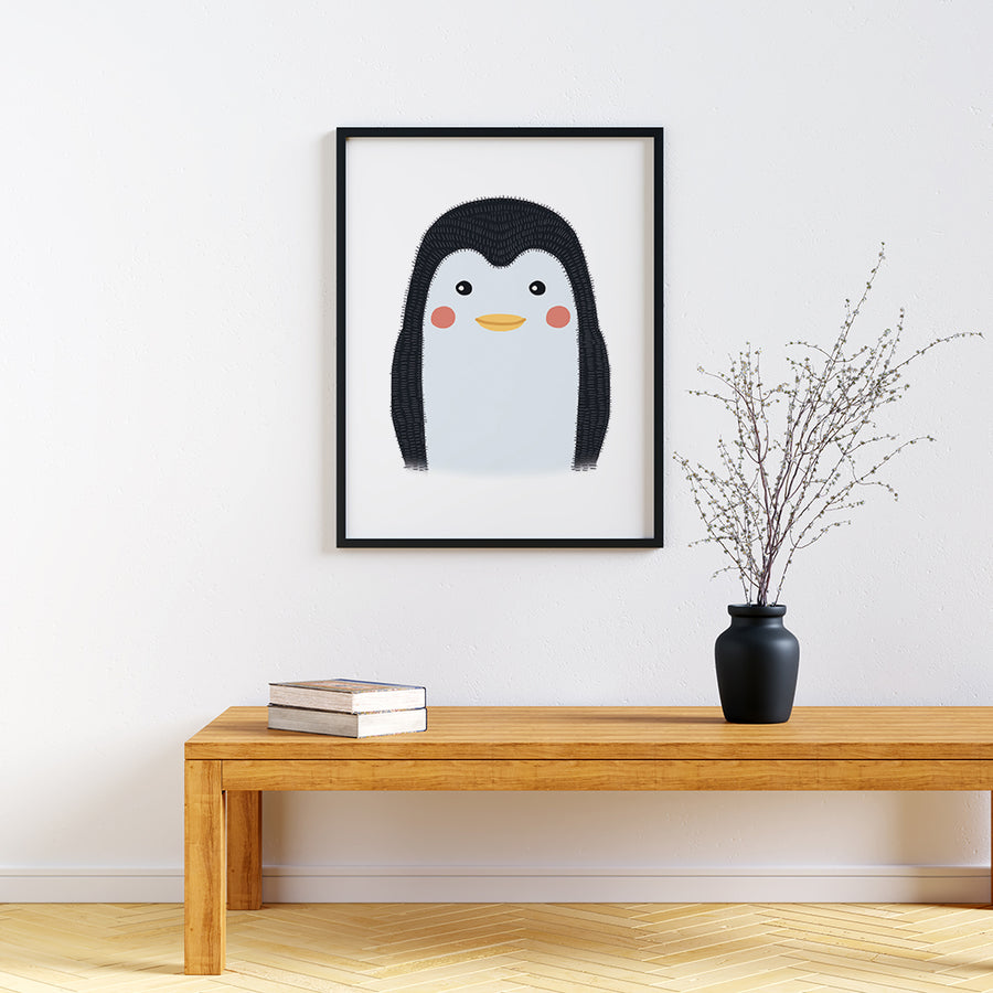 peekaboo animal prints Penguin