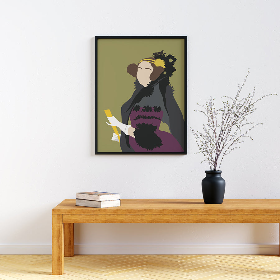Ada Lovelace Feminist Icon Print